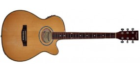 MAXWOOD MJ6606CEQ Електроакустична гітара