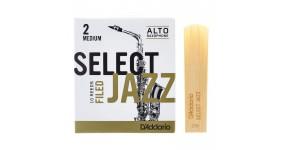D`ADDARIO RSF10ASX2M Тростина для саксофона альт Select Jazz 2 Medium