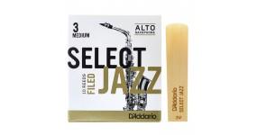 D`ADDARIO RSF10ASX3M Тростина для саксофона альт Select Jazz 3 Medium