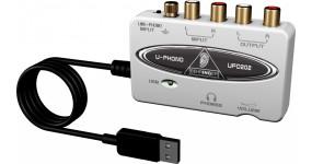 BEHRINGER UFO202 Аудіоінтерфейс USB 2х2