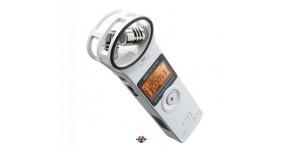 ZOOM H1 Рекордер цифровий портативний X/Y стерео мікрофони, білого кольору