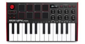 AKAI MPK MINI MK3 Black-Red MIDI клавіатура USB 25 клавіш