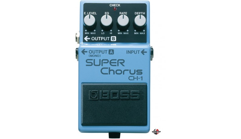 BOSS CH1 Super Chorus Педаль для електрогітари
