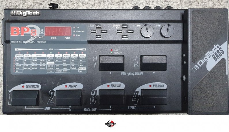 DIGITECH BP8 valve Процесор для бас-гітари