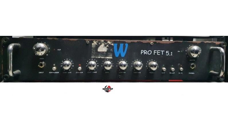 WARWICK ProFet 5.1 Підсилювач для бас-гітари 500Вт.