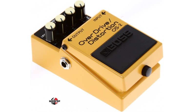 BOSS OS2 Overdrive/Distortion Педаль для електрогітари