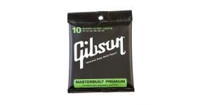 "GIBSON SAG-MB10 Masterbuilt Phos Bronze Acoustic .010-.047 Струни для акустичної гітари ""Masterbuilt"""