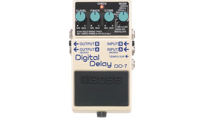 BOSS DD7 Digital Delay Педаль для електрогітари