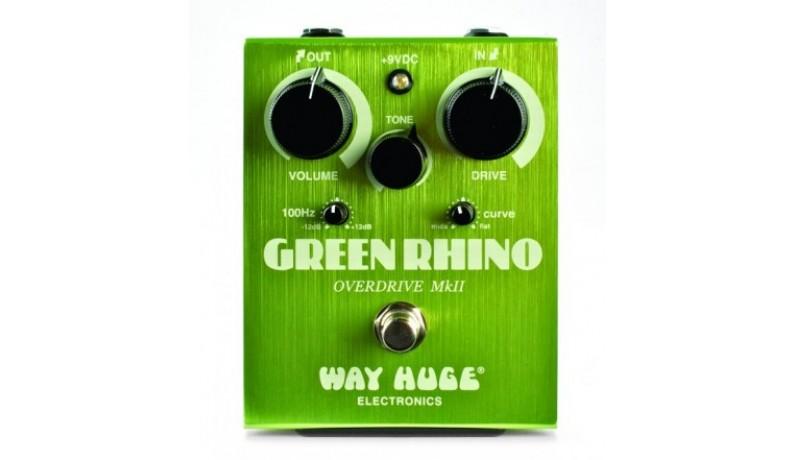 DUNLOP WHE202 WAY HUGE Green Rhino Overdrive MK2 Педаль для електрогітари