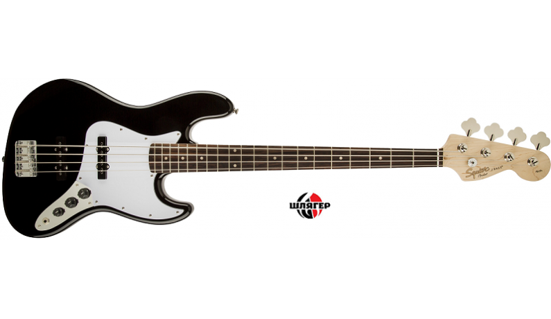SQUIER by FENDER AFFINITY JAZZ BASS RW BK Бас-гітара 4 струни