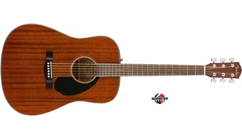 FENDER CD60S ALL MAHOGANY NATURAL Акустична гітара