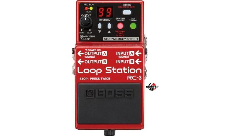 BOSS RC3 Педаль для електрогітари семплер