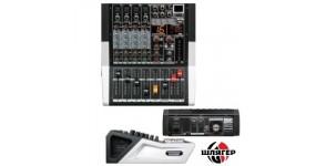 BIG PMX3-MP3-99DSP Мікшерний пульт з підсилювачем 4 мік. 2х250Вт.