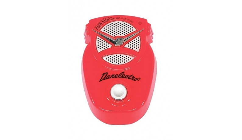 DANELECTRO DJ16 mini amp+distortion Педаль для електрогітари