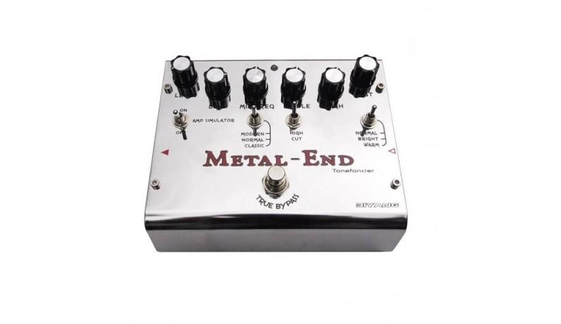 BIYANG Metal-End King Педаль для електрогітари