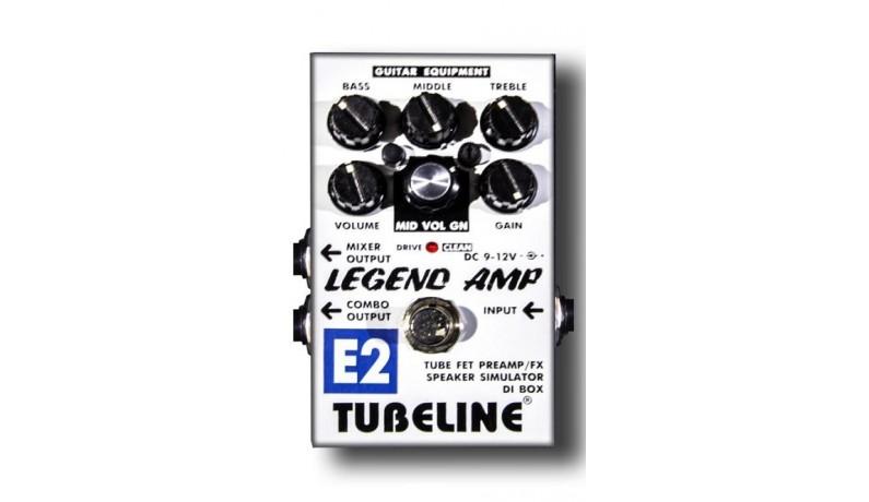 TUBELINE LEGEND AMP E2+PA2LA Педаль для електрогітари