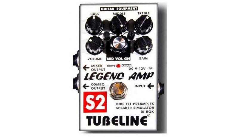 TUBELINE LEGEND AMP S2+PA2LA Педаль для електрогітари