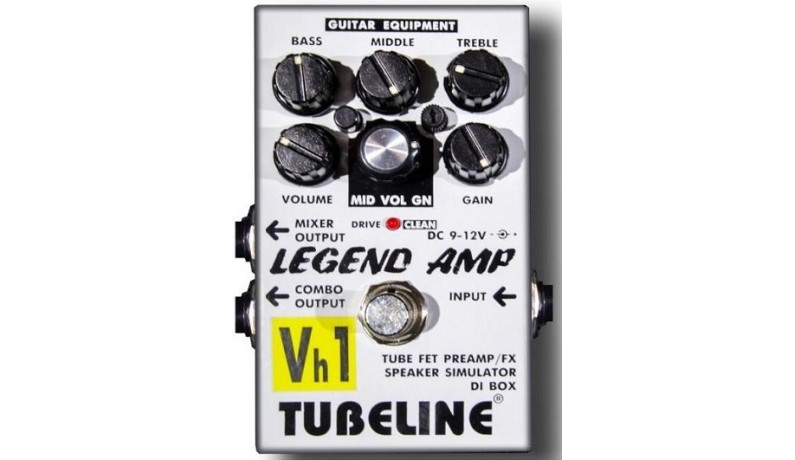 TUBELINE LEGEND AMP Vh1+PA2LA Педаль для електрогітари