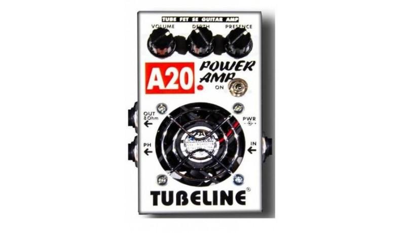 TUBELINE LEGEND AMP A20+SC1 Підсилювач для гітари в корпусі педалі