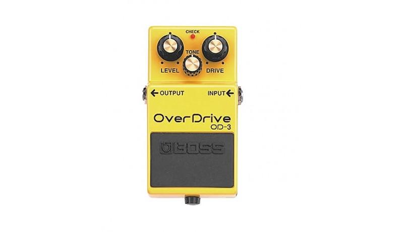 BOSS OD3 Overdrive Педаль для електрогітари