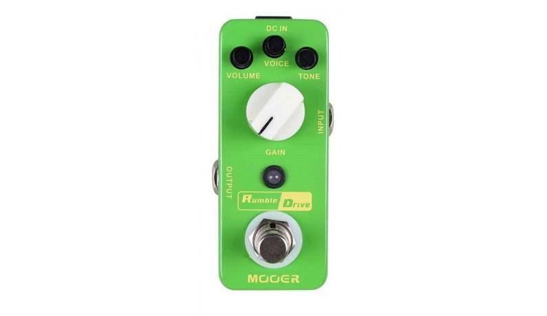 MOOER Rumble Drive Педаль для електрогітари овердрайв
