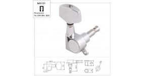 METALLOR MH01 CR Кілки для електрогітари 6 in line