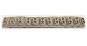 KORG Гумові контакти для Korg PA80, PA60, одна октава