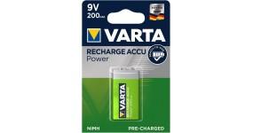 VARTA 9V Акумулятор 9V 200mAh