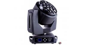 PRO LUX K10 Рухомий світлодіодний прилад Wash, Beam і Effect, 19х15 Вт RGBW