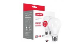 MAXUS 2-LED-567-01 Лампа світлодіодна матова 15W 3000 K E27