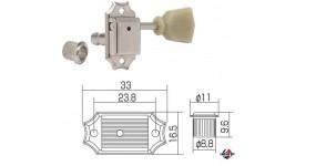 GOTOH SD90SL N Кілки для електрогітари 3+3