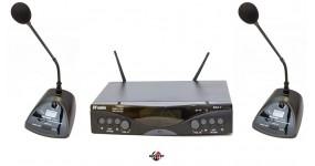 DV AUDIO MGX24C Радіосистема конференційна UHF 633-785MHz, два конференційних мікрофони
