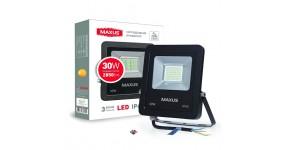 MAXUS 1-MAX-01-LFL-3050 Прожектор світлодіодний 30W, 5000 K, IP65