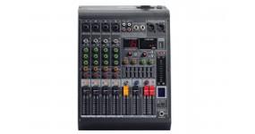 4all Audio MC-400D(350W) Мікшерний пульт з підсилювачем 4+1, 2х350Вт.+48В.