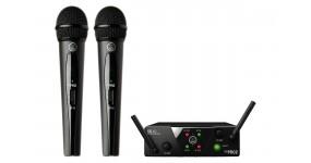 AKG WMS40 Mini2 Vocal Set Радіосистема UHF 537,900-540,400 МГц, два ручних мікрофони