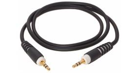KLOTZ AS-MM0090 Готовий мультимедійний кабель 3,5-3,5, 0,9м.