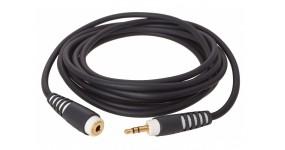 KLOTZ AS-EX10300 Готовий мультимедійний кабель 3,5 мама-3,5 тато, 3м