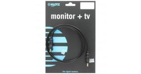 KLOTZ HDMI-FL050 Готовий кабель HDMI-HDMI, 5м