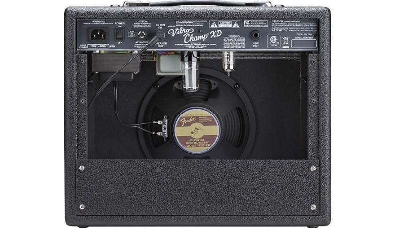 """FENDER VIBRO CHAMP® XD 5-W TUBE Комбопідсилювач для електрогітари ламповий,  5 Вт, 1х8"""""""