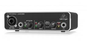 BEHRINGER UMC22 Аудіоінтерфейс USB 2х2