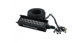 ROCKCABLE RCL 30900 Мультикор 8 XLR-f - XLR-m, 15м