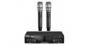 DV AUDIO MGX-24H Dual Радіосистема UHF 633-785MHz, два ручних мікрофони