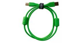 UDG Ultimate Audio Cable USB 2.0 A-B Green Straight 1m Готовий кабель USB A-B