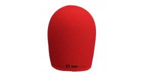 MAXTONE Taiwan W-2 Wine Red Вітрозахист для мікрофонів 25 мм.
