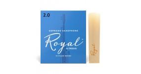 D`ADDARIO RIB1020 Тростина для саксофона сопрано Rico Royal™,  товщина 2