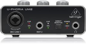 BEHRINGER UM2 Аудіоінтерфейс USB 2х2