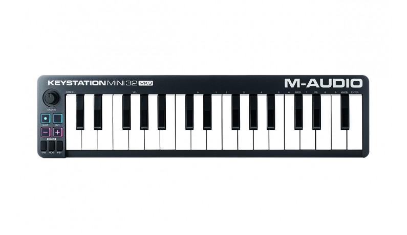 M-AUDIO KEYSTATION MINI 32 MK3 MIDI клавіатура 32 міні клавіші