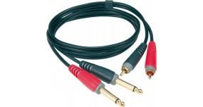 KLOTZ AT-CJ0200 Готовий мультимедійний кабель RCA-RCA, 2м