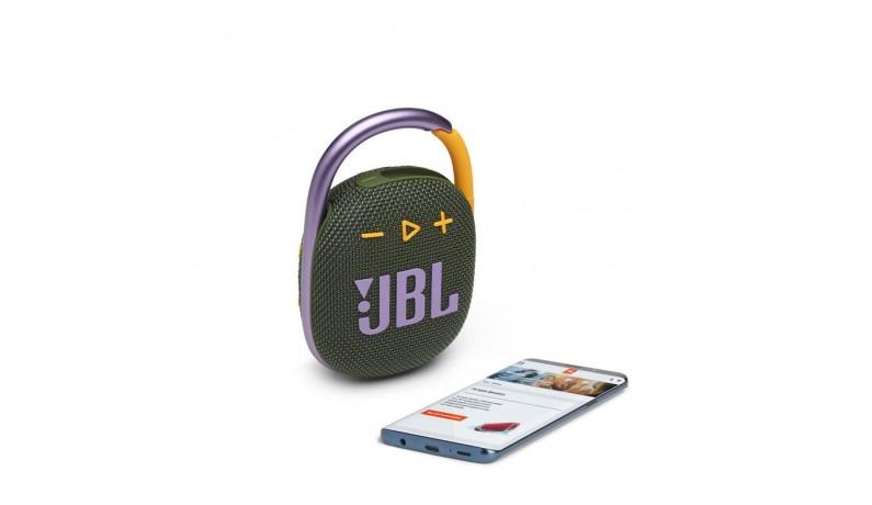 JBL CLIP4 GRN Акустична система портативна з БТ