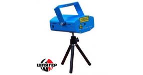 BIG BEMINI2 Лазер міні двохколірний, червоний 100mw + зелений 30mw, мікс жовтий, феєрверк, зіркова пилюка, мухи, кут 180 градусів